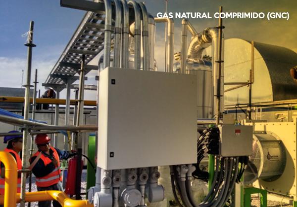 GAS NATURAL COMPRIMIDO (GNC)