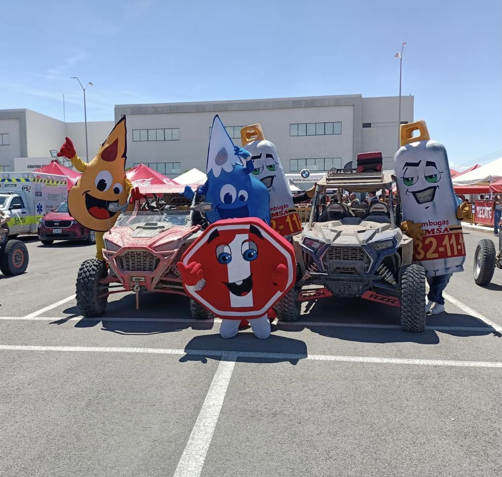 Grupo Simsa de Salomón Issa Tafich y Nesim Issa Tafich se sumó a Rally Coahuila 1000